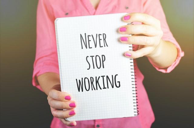 Motivační nápis