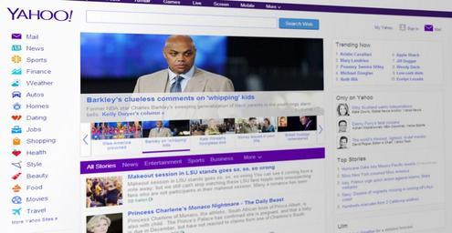 Yahoo vyhledávač