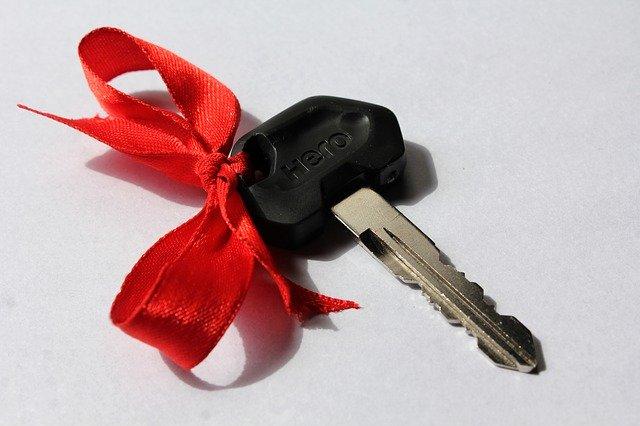klíč ke skútru