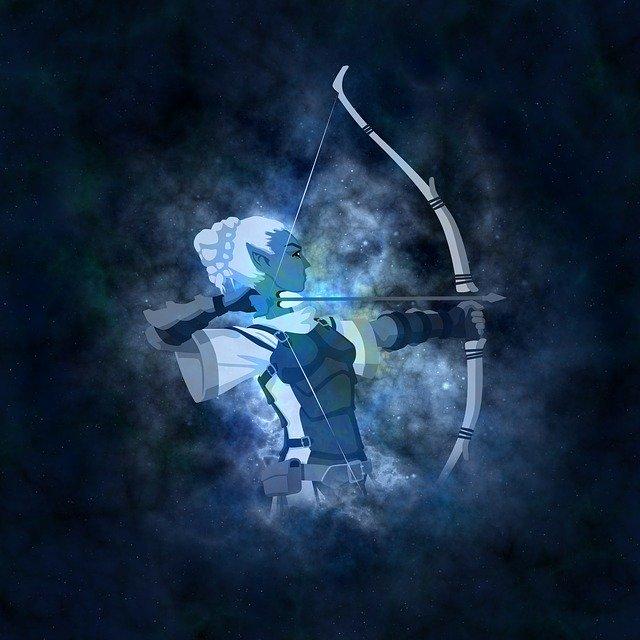 astrologický vládce spojení na dálku  – Znamení Střelce